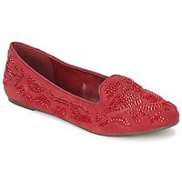 Schuhe Damen Slipper Moony Mood LUDIA Rot
