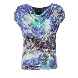 Kleidung Damen Tops / Blusen Smash SUIRIRI Blau / Grün