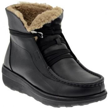 Schuhe Damen Wanderschuhe FitFlop LOAFF LACE UP ANKLE BOOT SHEARLING bergschuhe