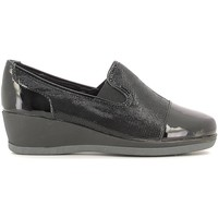 Schuhe Damen Slip on Grunland SC2329 Mocassins Frauen Black