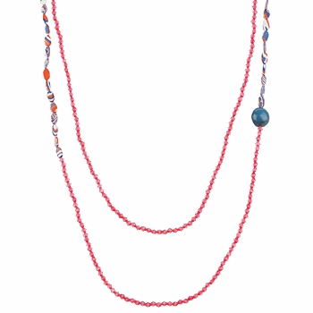 Uhren Damen Collier Zaza Factory INDIEN Rose
