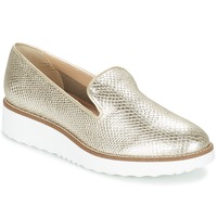 Schuhe Damen Slipper Dune GARNISH Silbern