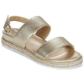 Schuhe Damen Sandalen / Sandaletten Dune London LACROSSE Gold