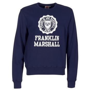 Kleidung Herren Sweatshirts Franklin & Marshall NESS OFRA Marine