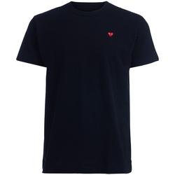 Kleidung Herren T-Shirts Comme Des Garcons Comme Des Garçons Herren T-Shirt  PLAY mit rotem Herz Schwarz