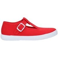 Schuhe Mädchen Sneaker Batilas 52601 Niño Rojo rouge