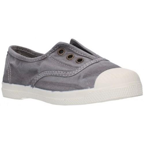 Schuhe Mädchen Sneaker Low Natural World 470E gris