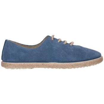 Schuhe Jungen Leinen-Pantoletten mit gefloch Batilas 45030 Niño Azul marino bleu