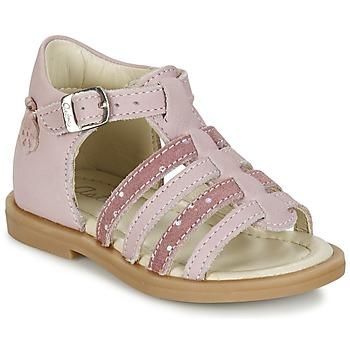 Schuhe Mädchen Sandalen / Sandaletten Aster MINIONE Rose