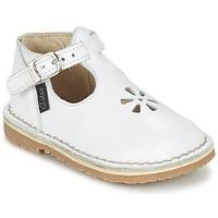 Schuhe Mädchen Ballerinas Aster BIMBO Weiss
