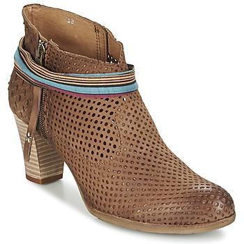 Schuhe Damen Low Boots Felmini OMESSIO Braun