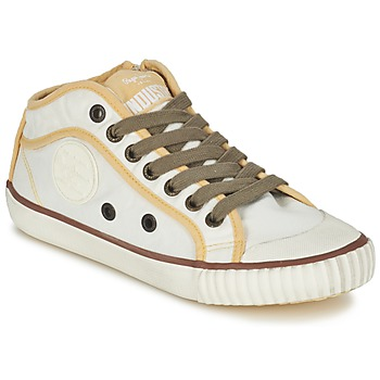 Schuhe Damen Sneaker Low Pepe jeans INDUSTRY Beige / Braun / Gelb