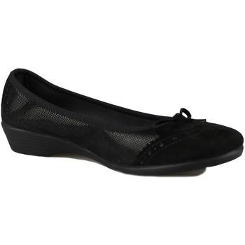 Schuhe Damen Ballerinas Vulladi SERRAJE MANOLETINA BLACK