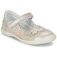 Schuhe Mädchen Ballerinas GBB PRATIMA Grau / Silbern