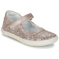Schuhe Mädchen Ballerinas GBB PLACIDA Rose / Gold