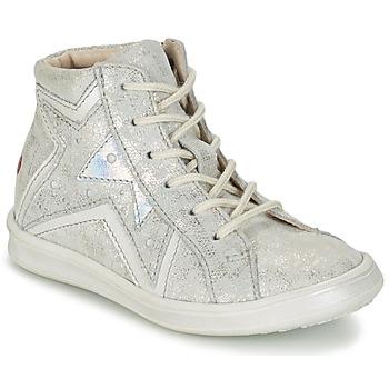 Schuhe Mädchen Sneaker High GBB PRUNELLA Grau / Silbern