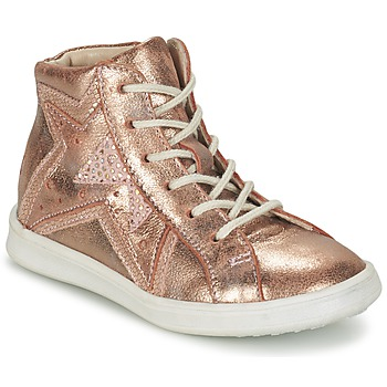 Schuhe Mädchen Sneaker High GBB PRUNELLA Rose / Gold