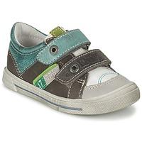 Schuhe Jungen Sneaker Low GBB PHIL Grau / Grün