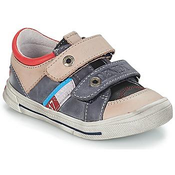 Schuhe Jungen Sneaker Low GBB PHIL Grau / Blau