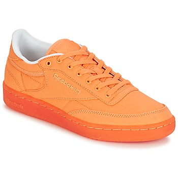 Schuhe Damen Sneaker Low Reebok Classic CLUB C 85 CANVAS Orange