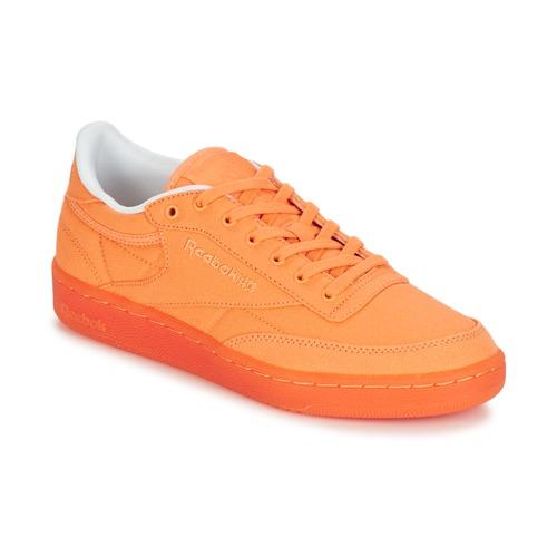 Reebok Classic CLUB C 85 CANVAS Orange  Schuhe TurnschuheLow Damen 71,96