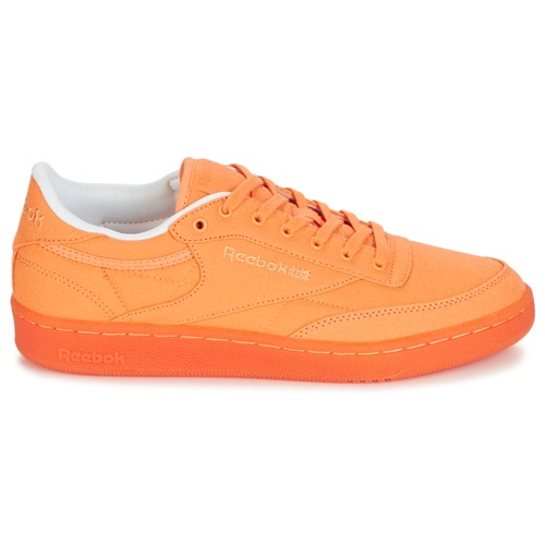 Reebok Classic CLUB C 85 CANVAS Orange  Schuhe Sneaker Low Damen 45