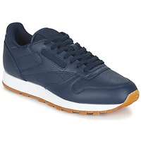 Schuhe Herren Sneaker Low Reebok Classic CL LEATHER PG Blau