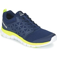 Schuhe Herren Fitness / Training Reebok Sport SUBLITE XT CUSHION Blau / Gelb