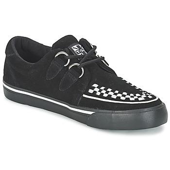 Schuhe Sneaker Low TUK CREEPERS SNEAKERS Schwarz / Weiss