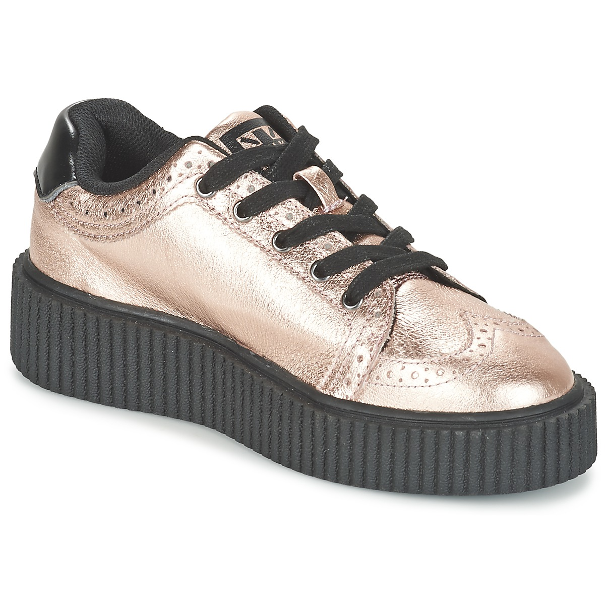 TUK CASBAH CREEPERS Rose - Kostenloser Versand bei Spartoode ! - Schuhe Sneaker Low Damen 59,50 €