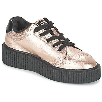 Schuhe Damen Sneaker Low TUK CASBAH CREEPERS Rose