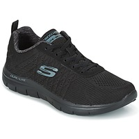 Schuhe Herren Sneaker Low Skechers Flex Advantage 2.0 The Happs Schwarz