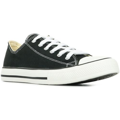 Schuhe Damen Sneaker Low Victoria Zapatilla Basket Schwarz