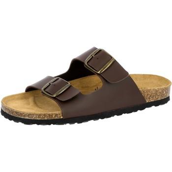 Schuhe Herren Pantoffel Lico Bioline Man braun