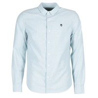 Kleidung Herren Langärmelige Hemden Timberland LS RATTLE RIVER OXFORD SHIRT SLIM Blau