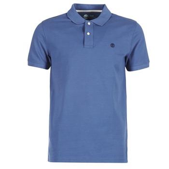 Kleidung Herren Polohemden Timberland SS MILLERS RIVER PIQUE REG POLO Blau