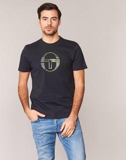 Kleidung Herren T-Shirts Sergio Tacchini DAVE TEE-SHIRT Schwarz