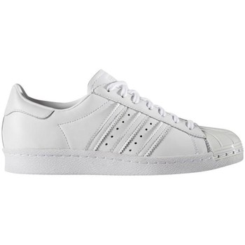 Schuhe Damen Sneaker Low adidas Originals SUPERSTAR 80S METAL Weiß