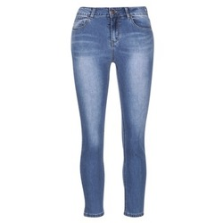 Kleidung Damen Slim Fit Jeans Best Mountain ROSEPELLE Blau