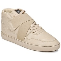 Schuhe Herren Sneaker High Sixth June NATION STRAP Beige