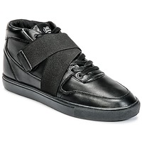 Schuhe Herren Sneaker High Sixth June NATION STRAP Schwarz