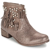 Schuhe Damen Boots Mimmu MOONSTROP Braun