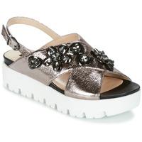 Schuhe Damen Sandalen / Sandaletten Luciano Barachini TANITI Grau