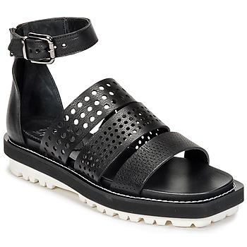 Schuhe Damen Sandalen / Sandaletten Now PADOU Schwarz