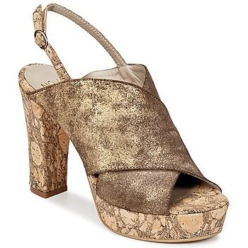 Schuhe Damen Pantoffel Now PALISSA Bronze