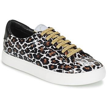 Schuhe Damen Sneaker Low Marc Jacobs EMPIRE LACE UP Leopard