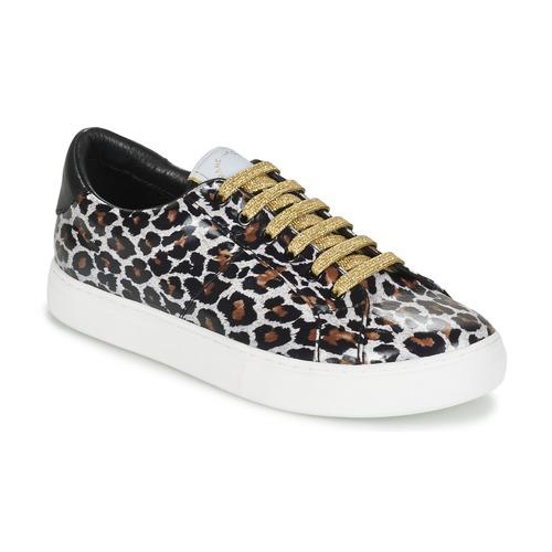 Marc Jacobs EMPIRE LACE UP Leopard Schuhe Sneaker Low Damen 137,50