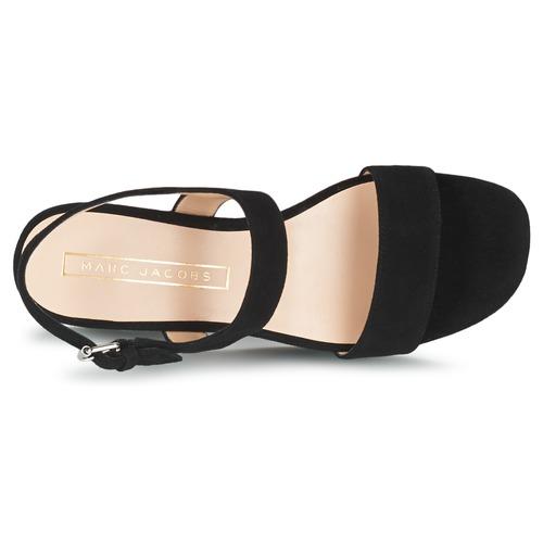 Marc Jacobs LILLYS WEDGE Schwarz  Schuhe Sandalen / Sandaletten Damen 260