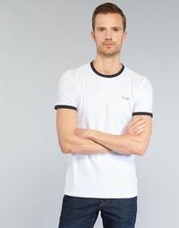 Kleidung Herren T-Shirts Teddy Smith THE TEE Weiss