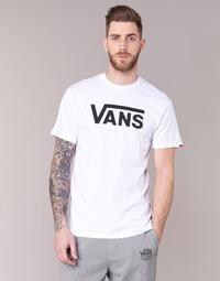 Kleidung Herren T-Shirts Vans VANS CLASSIC Weiss